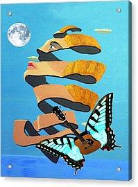 Breaking Dawn Acrylic Print by Eric Kempson