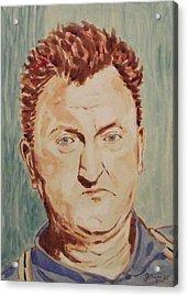 Brendan Behan Acrylic Print by John  Nolan