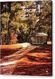 Brewer Cabin Acrylic Print by Jai Johnson