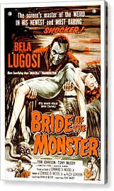 Bride Of The Monster, Bela Lugosi, 1955 Acrylic Print by Everett