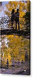 Bridge Of Love Acrylic Print by Andrew Shlykoff