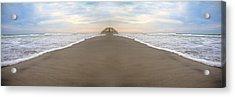 Bridge To Parallel Universes  Acrylic Print by Betsy C Knapp