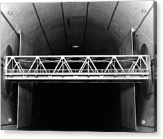 Bridge Wind Tunnel Test, 1954 Acrylic Print by National Physical Laboratory (c) Crown Copyright