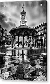 Bridgeton Cross Bandstand Glasgow Acrylic Print by John Farnan