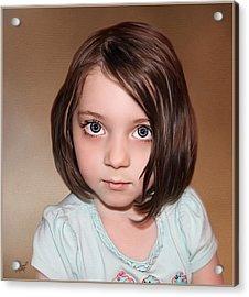 Bright Eyes Acrylic Print by Tom Schmidt