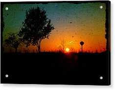 Acrylic Print featuring the photograph Bring On The Day by Joel Witmeyer