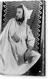 Brion Gysin 1916-1986, Painter Acrylic Print by Everett