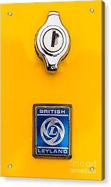 British Leyland Acrylic Print by Jerry Fornarotto