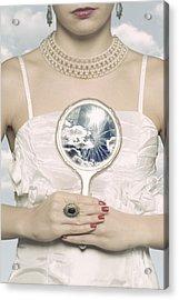Broken Handmirror Acrylic Print by Joana Kruse