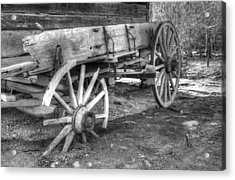 Broken Past Acrylic Print by Greg and Chrystal Mimbs