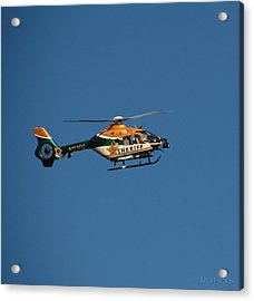 Broward County Sherriff Cop Ter Acrylic Print by Rob Hans