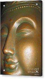 Buddha 25 Acrylic Print by Cheryl Young