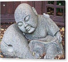 Buddha Acrylic Print by Chalet Roome-Rigdon