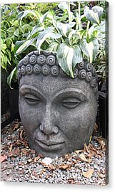 Buddha On A Hot Summer Island Day Acrylic Print by Brian Sereda