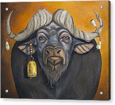 Buffalo Bells Acrylic Print by Leah Saulnier The Painting Maniac