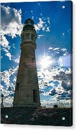 Buffalo Lighthouse 15717c Acrylic Print by Guy Whiteley
