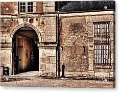 Building In France Acrylic Print by Charuhas Images