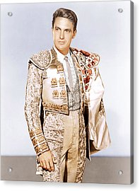 Bullfighter And The Lady, Robert Stack Acrylic Print by Everett