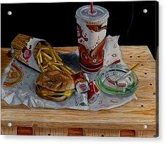 Burger King Value Meal No. 1 Acrylic Print by Thomas Weeks
