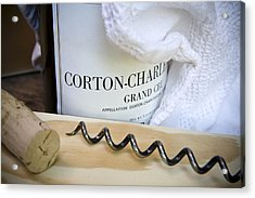 Burgundy Wine Acrylic Print by Frank Tschakert
