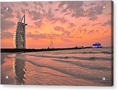 Burj Al Arab Dubai Acrylic Print by Anusha Hewage