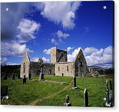 Burrishoole Friary, Co Mayo, Ireland Acrylic Print by The Irish Image Collection