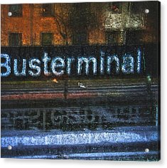 Busterminal Acrylic Print by Odd Jeppesen