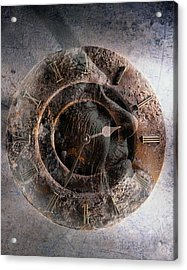 ...but How About Time Acrylic Print by Gun Legler