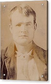 Butch Cassidy Was The Alias Of Robert Acrylic Print by Everett