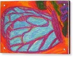 Butterfly Acrylic Print by Genoa Chanel