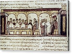 Byzantine Philosophy School Acrylic Print by Granger