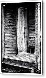 Cabin Door Acrylic Print by John Rizzuto