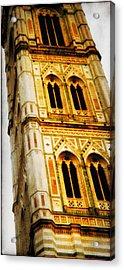 Campanile Di Giotto Acrylic Print by Li   van Saathoff