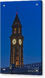 Can I Have The Time Please Acrylic Print by Susan Candelario