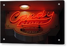 Candy Acrylic Print by Skip Willits
