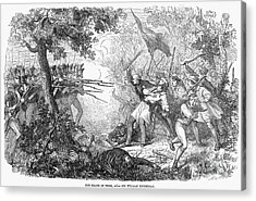Canterbury Riot, 1838 Acrylic Print by Granger