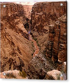 Canyon Mountain Acrylic Print by The Kepharts