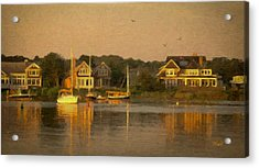 Cape Cod Evening Acrylic Print by Michael Petrizzo