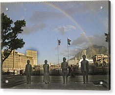 Cape Town Freedom South Africa Acrylic Print by Jonathan Whichard