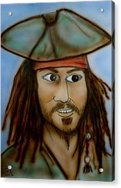 Capt. Jack Acrylic Print by Pete Maier