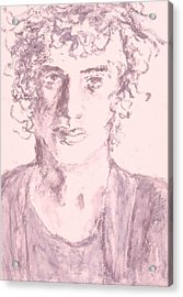Captive Acrylic Print by Iris Gill