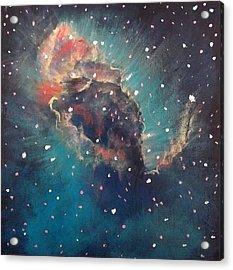 Carina Nebula Jet Acrylic Print by Alizey Khan