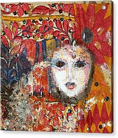 Carnival Acrylic Print by Nalini Cook