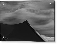 Carnival Tent Acrylic Print by Bob Orsillo