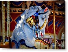 Carousel Acrylic Print by Lyle  Huisken