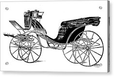Carriage: Victoria Acrylic Print by Granger