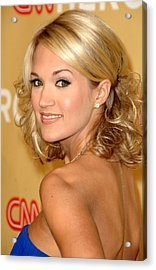 Carrie Underwood In Attendance For Cnn Acrylic Print by Everett
