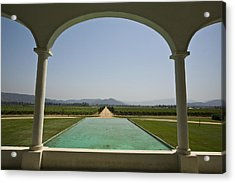 Casablanca Valley, A Wine Growing Acrylic Print by Richard Nowitz