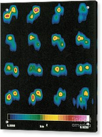 Castalia Asteroid Sequence, False-color Acrylic Print by Science Source