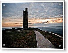Castle Hill Acrylic Print by Mark Britten